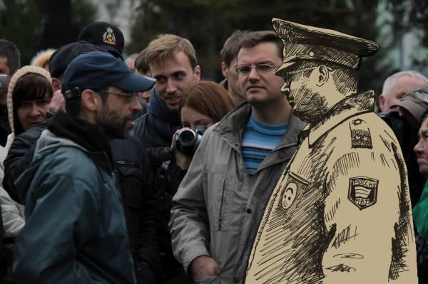 Виктор Корб и полицаи-зомби
